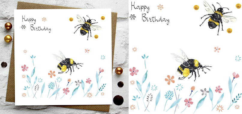 BIRTHDAY -> Happy Birthday -> Bees