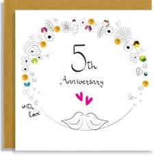 5th Anniversary Birds