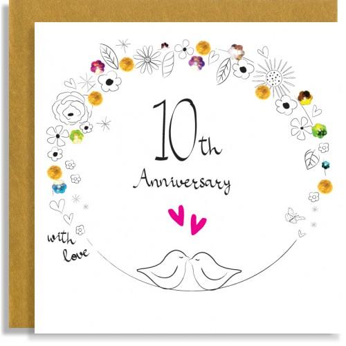 10th Anniversary Birds