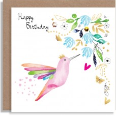 Birthday Hummingbird