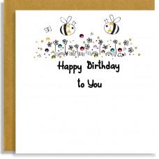 Birthday Bees