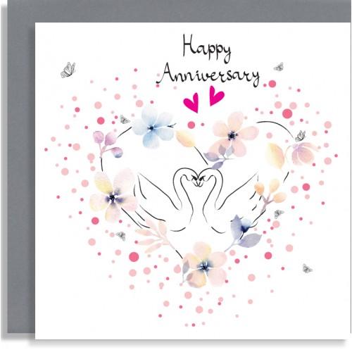 Anniversary Swans