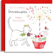 Granddaughter Cat
