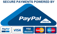 SABIVO Design accepts MasterCard MAESTRO VISA Credit Debit Cards and PayPal Payments