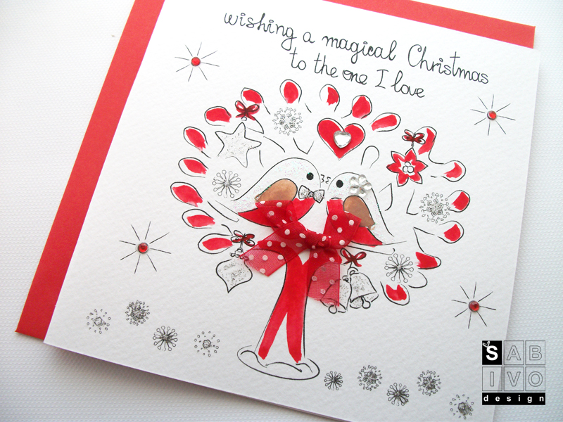 Christmas Cards on Card and Gift Network – SABIVO Design\'s Blog