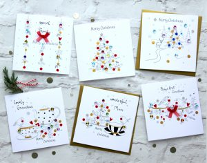 Bijoux Handmade Greeting Cards SABIVO Design 2016 SM