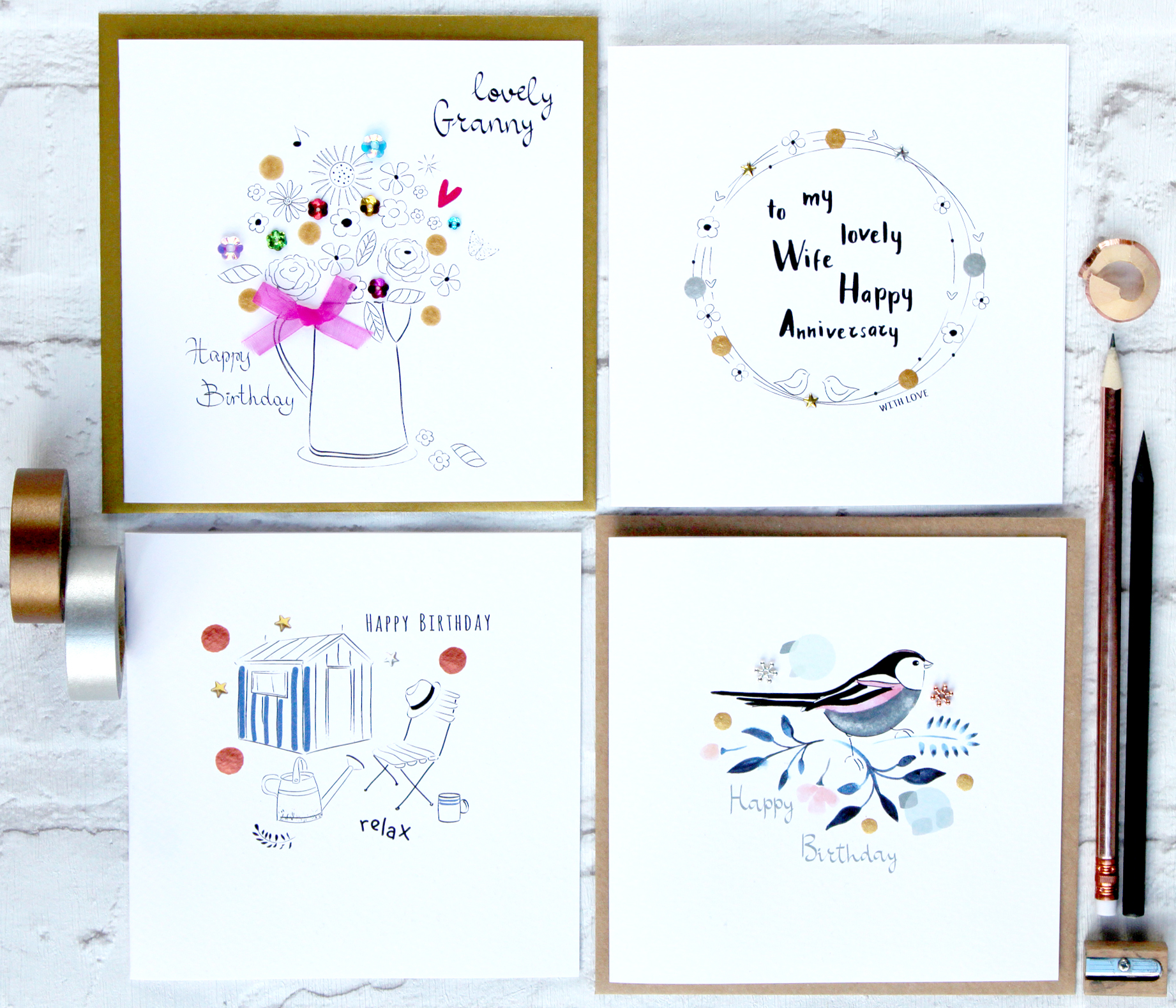 Handmade Greeting Cards Sabivo Designs Blog