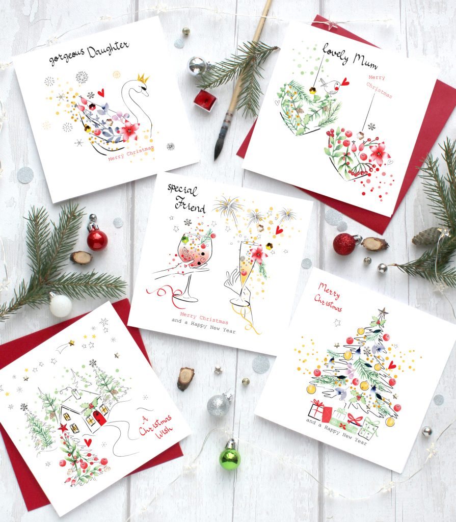 Brilliant Christmas Handmade Greeting Cards Sabivo Designs Blog Funny Birthday Cards Online Alyptdamsfinfo